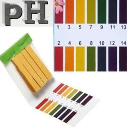 Лакмусовая бумага (pH тест) 80 полосок от 1 до 14 pH 1 упаковка