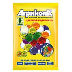 Гидрогель Агрикола зелёные шарики 20 гр