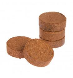 Кокосовые таблетки Cocopress 36 мм (50 штук + 10 в подарок)