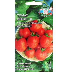 Томат Непас 10 (Непасынкующийся полосатый) семена 0,1 гр