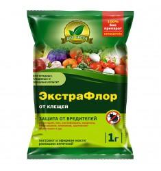 Инсектицид ЭкстраФлор (№11 от клещей) 1 гр