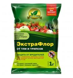 Инсектицид ЭкстраФлор (№1 от тли и трипсов) 1 гр