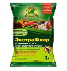 Инсектицид ЭкстраФлор (№5 от луковой мухи и крестоцветной блошки) 1 гр